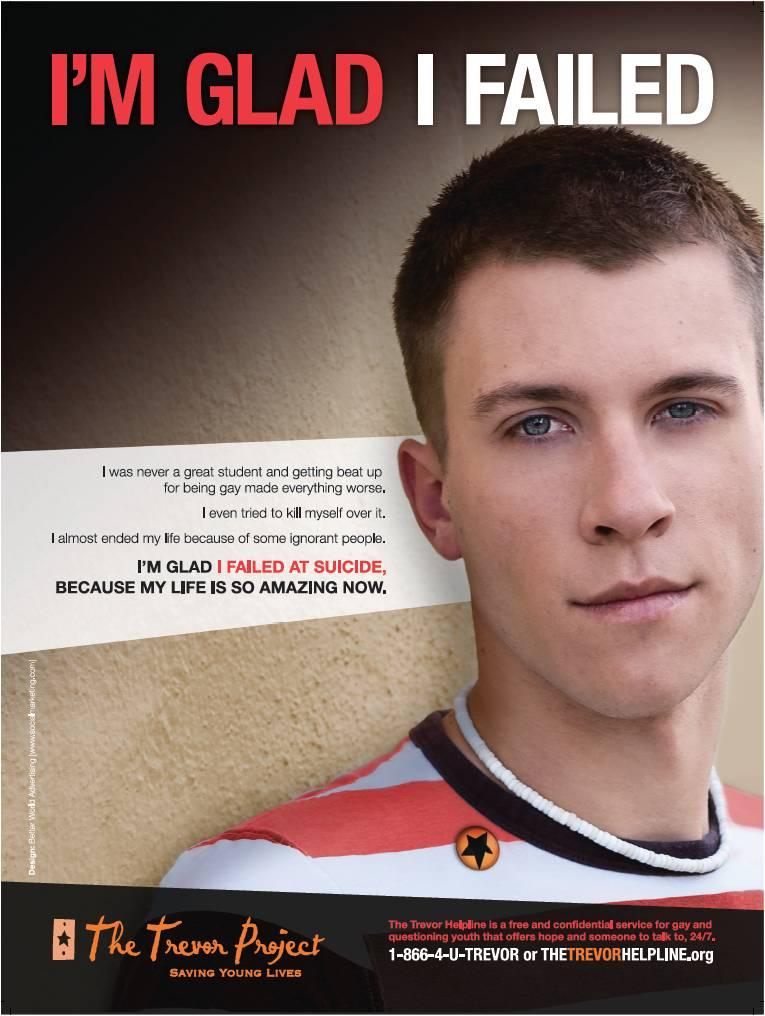 Helpline gay trevor project